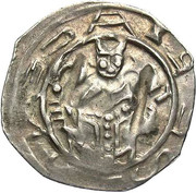 1 Pfennig - Adalbert III von Böhmen (Friesach) – obverse