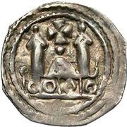 1 Pfennig - Adalbert III von Böhmen (Friesach) – reverse