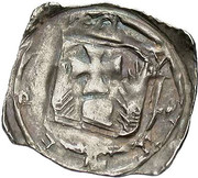 1 Pfennig - Eberhard II von Regensberg (Friesach) -  reverse