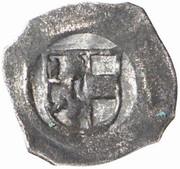 1 Pfennig - Sigismund von Volkersdorf – obverse