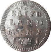2 Kreuzer - Leopold Anton von Firmian -  reverse