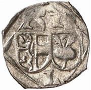 1 Pfennig - Leonhard von Keutschach – obverse