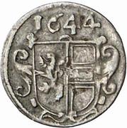 1 Pfennig - Paris von Lodron – reverse