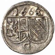 1 Pfennig - Guidobald von Thun – obverse