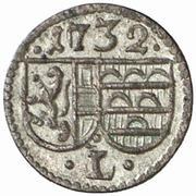 1 Pfennig - Leopold Anton  von Firmian -  obverse