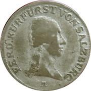3 Kreutzer - Ferdinand III of Austria - Tuscany -  obverse