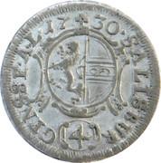 4 Kreuzer - Leopold Anton von Firmian -  reverse