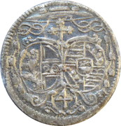 4 Kreuzer - Leopold Anton von Firmian -  obverse
