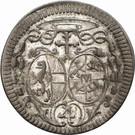 4 Kreuzer - Jakob Ernst von Liechtenstein – obverse