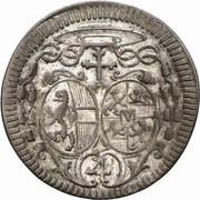 4 Kreuzer - Jakob Ernst von Liechtenstein -  obverse