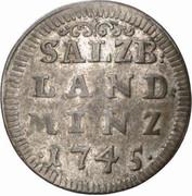 4 Kreuzer - Jakob Ernst von Liechtenstein -  reverse