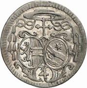 4 Kreuzer - Sigismund von Schrattenbach -  obverse