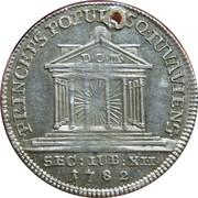 5 Kreuzer (12th Jubilee) -  reverse