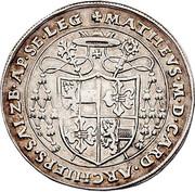 ½ Guldiner - Matthaüs Lang von Wellenburg -  reverse