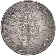 ½ Guldentaler - 30 Kreuzer Johann Jakob Khuen von Belasi (Maximilian) -  obverse