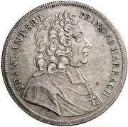 1 Thaler - Franz Anton von Harrach -  obverse