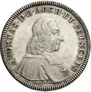 1 Thaler - Andreas Jakob von Dietrichstein -  obverse