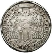 1 Thaler - Andreas Jakob von Dietrichstein -  reverse