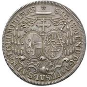 1 Thaler - Sigismund von Schrattenbach (type 3) -  obverse