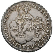 1 Thaler - Sigismund von Schrattenbach (type 3) -  reverse