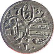 ½ Kreuzer - Leopold Anton  von Firmian -  obverse