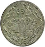 15 Kreuzer - Johann Ernst von Thun -  reverse