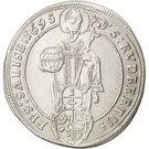 ¼ Thaler - Johann Ernst von Thun – reverse