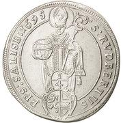¼ Thaler - Johann Ernst von Thun -  reverse
