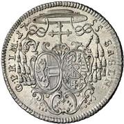 20 Kreuzer - Sigismund von Schrattenbach -  reverse