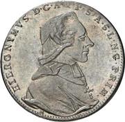 20 Kreuzer - Hieronymus von Colloredo -  obverse