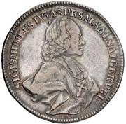 ½ Thaler - Sigismund von Schrattenbach -  obverse