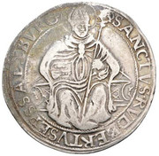 1 Thaler - Johann Jakob Khuen von Belasi -  reverse