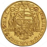 1 Ducat - Johann Ernst von Thun – obverse
