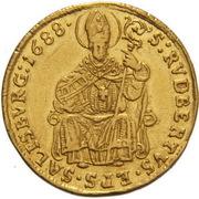 1 Ducat - Johann Ernst von Thun -  reverse