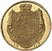 1 Ducat - Ferdinand III of Austria-Tuscany – reverse