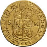 2 Ducats - Johann Jakob Khuen von Belasi (Maximilian) -  obverse