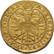 2 Ducats - Johann Jakob Khuen von Belasi (Maximilian) -  reverse