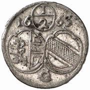 ½ Kreuzer - Guidobald von Thun -  obverse