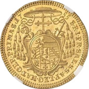 2 Ducat - Sigismund von Schrattenbach – reverse