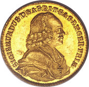 2 Ducats - Sigismund  von Schrattenbach – obverse