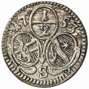 ½ Kreuzer - Sigismund von Schrattenbach -  obverse