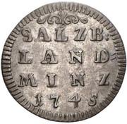 2 Kreuzer - Jakob Ernst von Liechtenstein -  reverse