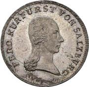 6 Kreutzer - Ferdinand of Austria - Tuscany -  obverse