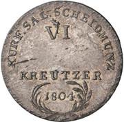 6 Kreutzer - Ferdinand of Austria - Tuscany -  reverse