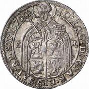 10 Kreuzer - Johann Jakob Khuen von Belasi (Maximilien) -  obverse