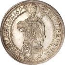 1 Thaler - Johann Ernst von Thun – reverse