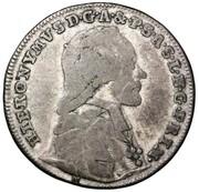 10 Kreuzer - Hieronymus von Colloredo -  obverse