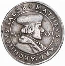 ¼ Thaler - Matthäus Lang von Wellenburg – obverse