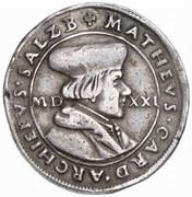 ¼ Thaler - Matthäus Lang von Wellenburg -  obverse