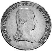 1 Thaler - Ferdinand III of Austria-Tuscany -  obverse